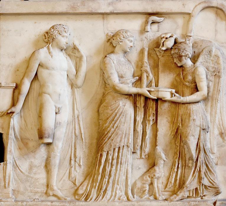 Victory, Apollo i Diana I w. pne