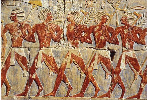 Spódniczki męskie w starożytnym Egipcie