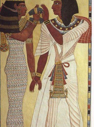 Egipska kobieta i mężczyzna